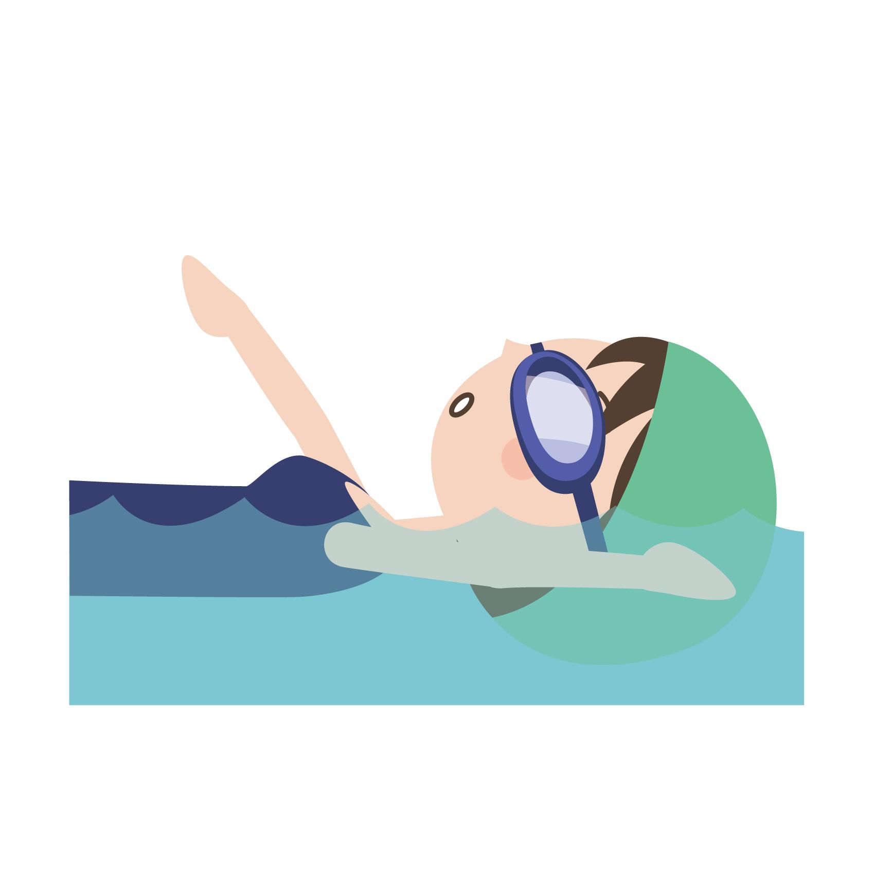 背泳ぎの泳ぎ方のコツ|背泳ぎの...